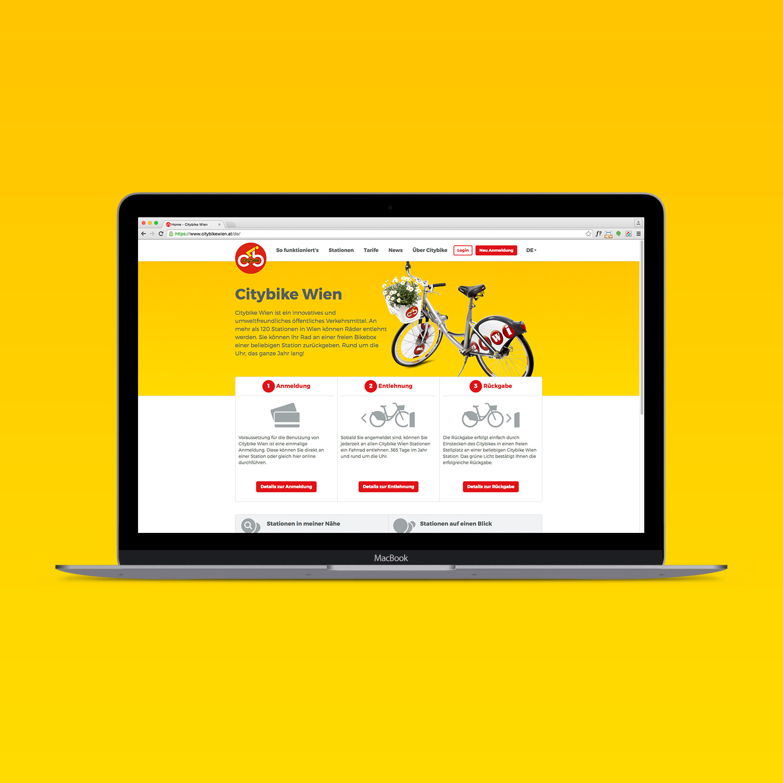 Citybike Website
