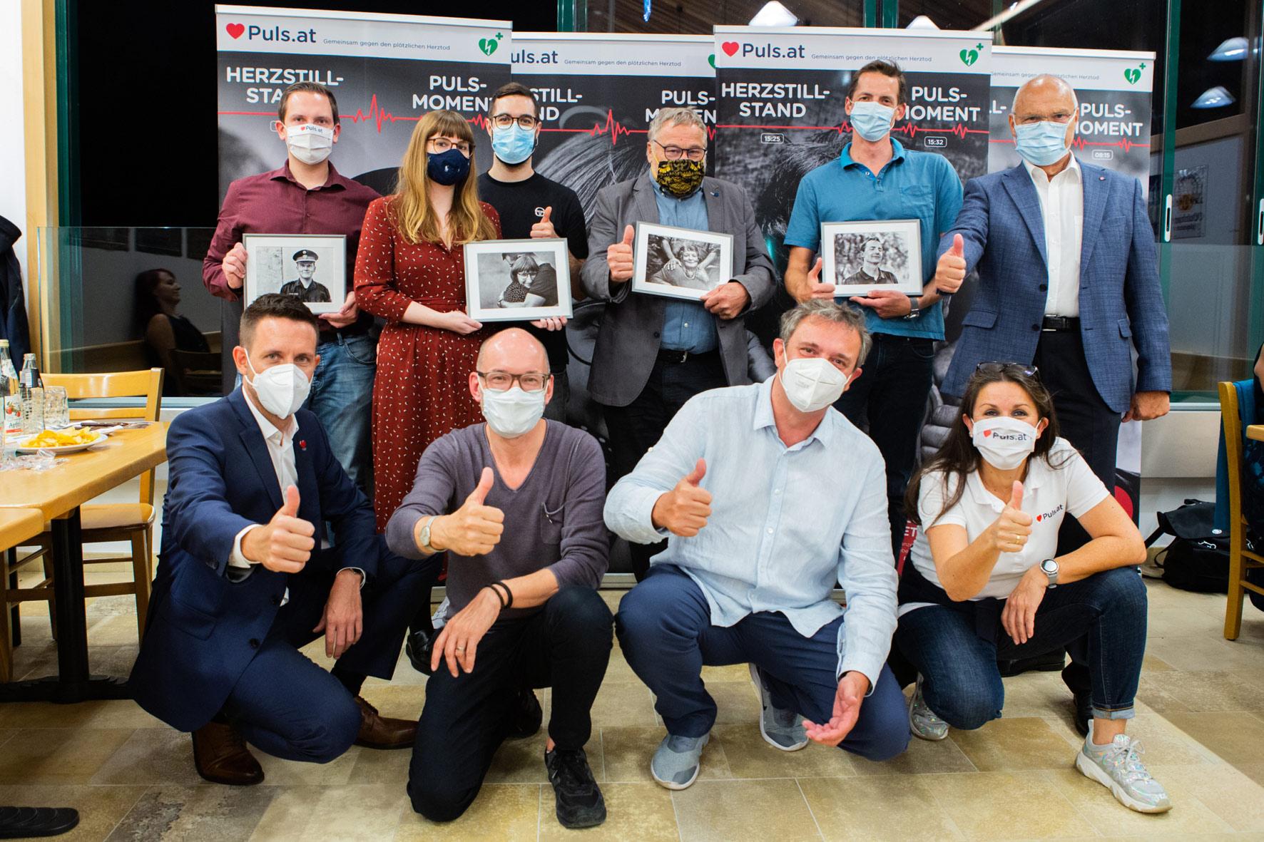 """Lumsden & Friends und der Verein Puls launchen die Kampagne """"Der Puls-Moment"""""""