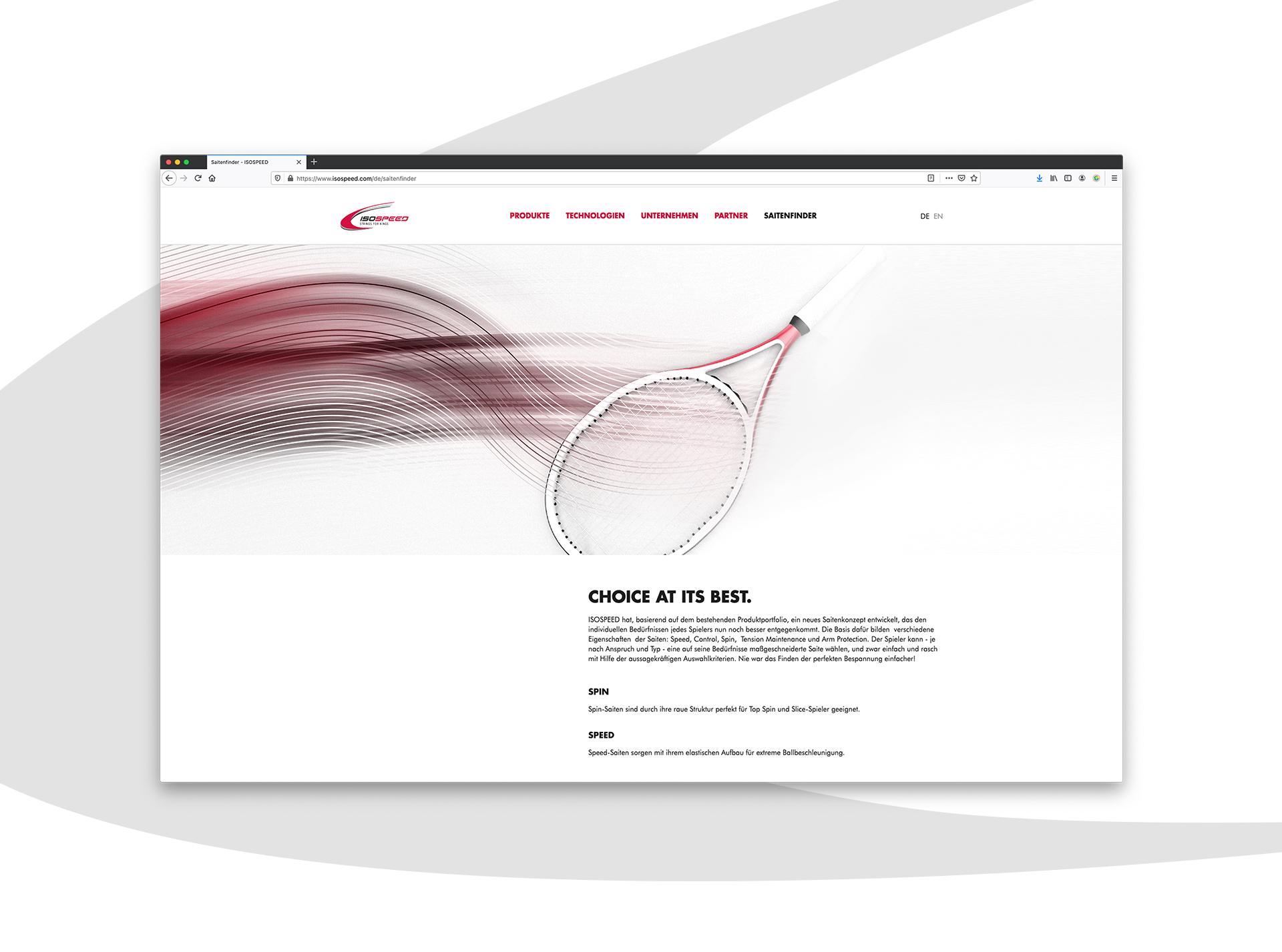 Isospeed Website